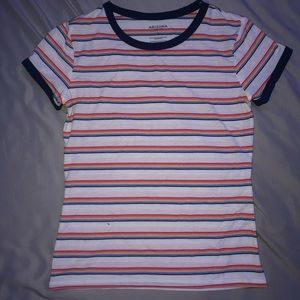 rainbow striped t shirt